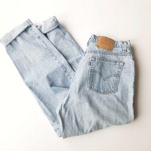Levi's   90s Vintage 550 High Waisted  Mom Jeans
